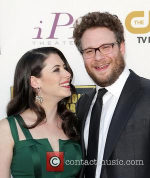 Lauren Miller and Seth Rogen - Celebrities attend the 19th Critics' Choice Movie Awards Ceremony LIVE on The CW Network...