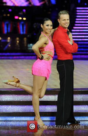 Nicky Byrne and Karen Hauer - Celebrities and Professional dancers at the Strictly Come Dancing Live Tour at the NIA...