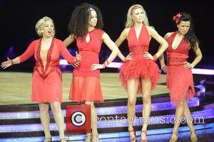 Natalie Gumede, Abbey Clancy, Susanna Reid and Deborah Meaden