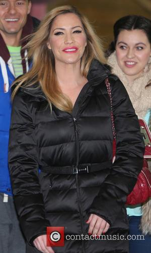 Heidi Range - Heidi Range outside the ITV Studios - London, United Kingdom - Friday 17th January 2014