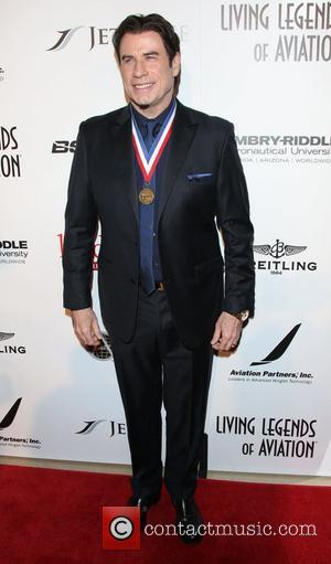 John Travolta - 11th Annual Living Legends of Aviation Awards - Los Angeles, California, United States - Friday 17th January...
