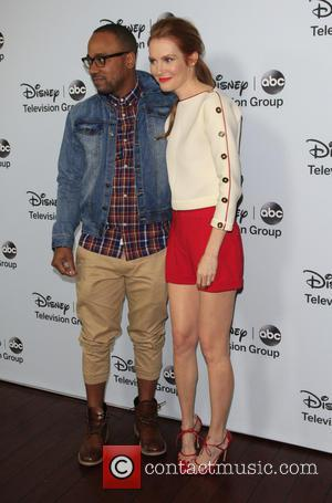 Darby Stanchfield and Columbus Short