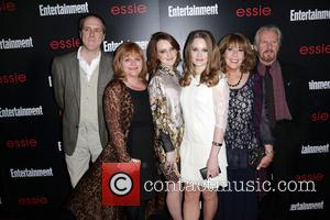 Guest, Lesley Nicol, Sophie Mcshera, Cara Theobold and Guests