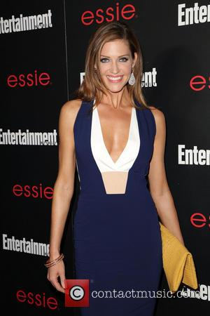 Tricia Helfer - Entertainment Weekly Screen Actors Guild Party at Chateau Marmont - Arrivals - Los Angeles, California, United States...
