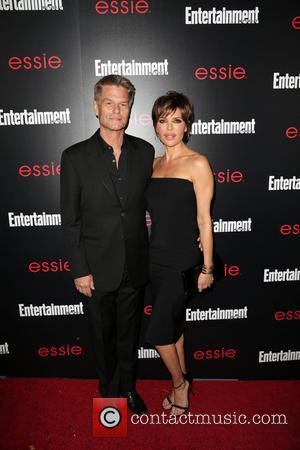 Harry Hamlin and Lisa Rinna - Entertainment Weekly Screen Actors Guild Party at Chateau Marmont - Arrivals - Los Angeles,...
