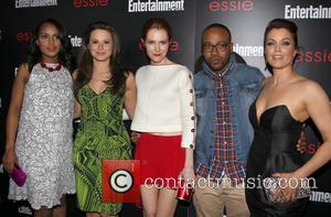 Kerry Washington, Katie Lowes, Darby Stanchfield, Columbus Short and Bellamy Young