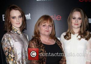 Sophie Mcshera, Lesley Nicol and Cara Theobold