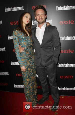 Troian Bellisario and Patrick J. Adams