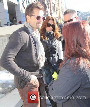 David Charvet and Brooke Burke - 2014 Sundance Film Festival - Day 2 - Celebrity Sightings - Park City, Utah,...