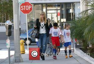 Heidi Klum, Henry Samuel and Leni Samuel