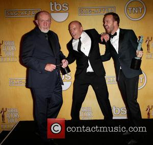 Jonathan Banks, Dean Norris and Aaron Paul