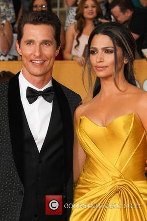 Matthew McConaughey and Camila Alves