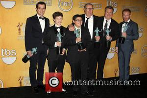 Ty Burrell, Nolan Gould, Rico Rodriguez, Ed O'neill, Eric Stonestreet and Jesse Tyler Ferguson