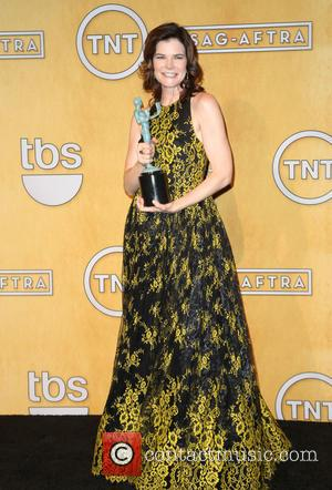 Betsy Brandt - The 20th Annual Screen Actors Guild (SAG) Awards held at The Shrine Auditorium - Press Room -...