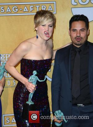 Jennifer Lawrence and Michael Pena