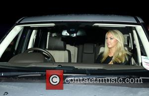 Leah Totton - Winner of The Apprentice Leah Totton leaves Celtic Park football ground with boyfriend and Celtic goalkeeper Fraser...