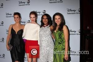 Bellamy Young, Darby Stanfield, Kerry Washington and Katie Lowes
