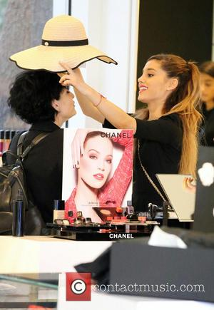 Ariana Grande and Joan Grande