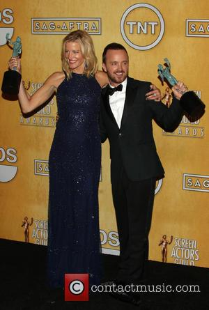 Ann Gunn and Aaron Paul