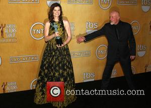 Betsy Brandt and Jonathan Banks - California - West Hollywood, California, United States - Saturday 18th January 2014