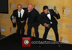 Dean Norris, Jonathan Banks and Aaron Paul - California - West Hollywood, California, United States - Saturday 18th January 2014