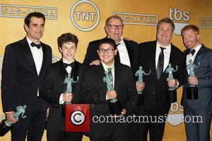 Ed O'neill, Eric Stonestreet, Jesse Tyler Ferguson, Nolan Gould, Rico Rodriguez and Ty Burrell