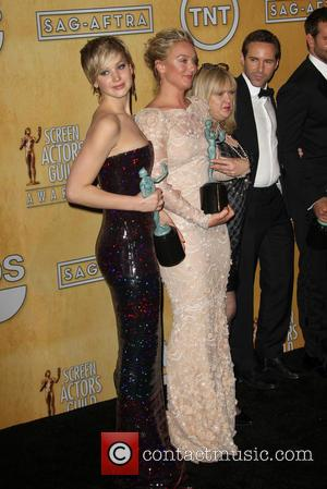Jennifer Lawrence and Elisabeth Rohm