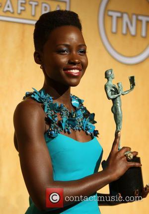 Lupita Nyong'o - 20th Annual Screen Actors Guild Awards - Press Room - West Hollywood, California, United States - Saturday...