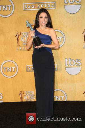 Julia Louis-Dreyfus - The 20th Annual Screen Actors Guild (SAG) Awards held at The Shrine Auditorium - Press Room -...