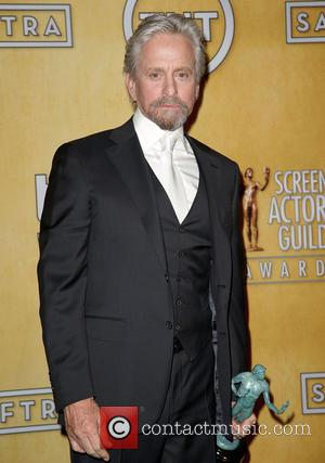 Michael Douglas - The 20th Annual Screen Actors Guild (SAG) Awards held at The Shrine Auditorium - Press Room -...