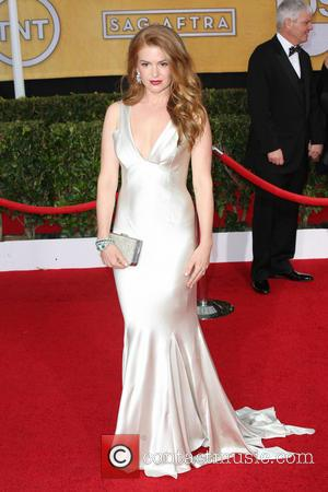 Isla Fisher - The 20th Annual Screen Actors Guild (SAG) Awards held at The Shrine Auditorium - Arrivals - Los...