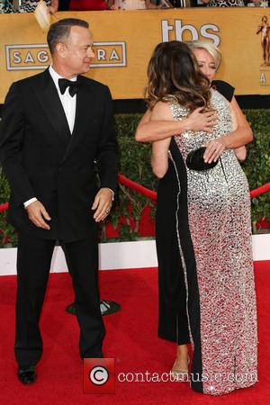 Tom Hanks, Emma Thompson and Rita Wilson - The 20th Annual Screen Actors Guild (SAG) Awards held at The Shrine...