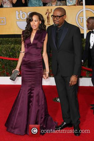 Keisha Whitaker and Forest Whitaker - The 20th Annual Screen Actors Guild (SAG) Awards held at The Shrine Auditorium -...