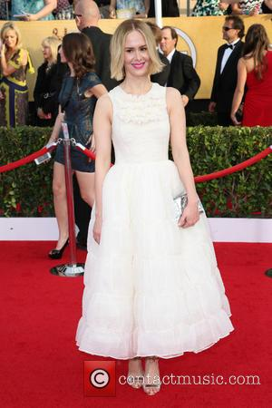 Sarah Paulson - The 20th Annual Screen Actors Guild (SAG) Awards held at The Shrine Auditorium - Arrivals - Los...