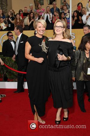 Emma Thompson and Meryl Streep