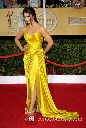 Camila Alves - The 20th Annual Screen Actors Guild (SAG) Awards held at The Shrine Auditorium - Arrivals - Los...