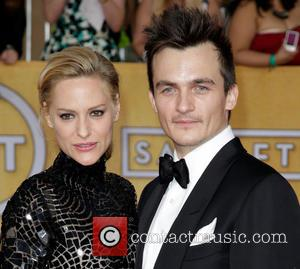 Aimee Mullins and Rupert Friend - The 20th Annual Screen Actors Guild (SAG) Awards held at The Shrine Auditorium -...