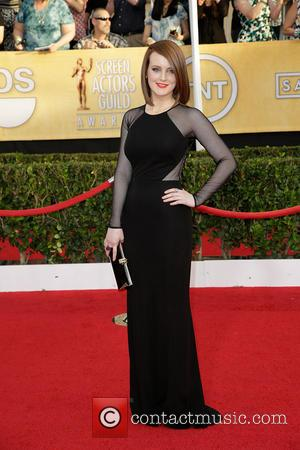 Sophie McShera - The 20th Annual Screen Actors Guild (SAG) Awards held at The Shrine Auditorium - Arrivals - Los...