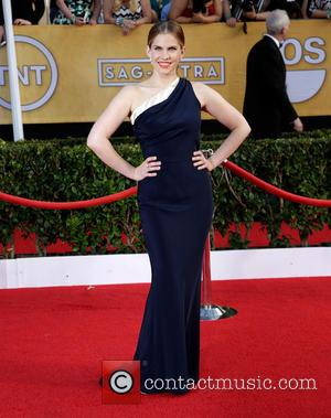 Anna Chlumsky - The 20th Annual Screen Actors Guild (SAG) Awards held at The Shrine Auditorium - Arrivals - Los...