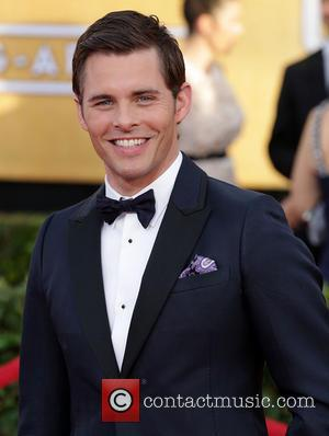 James Marsden - The 20th Annual Screen Actors Guild (SAG) Awards held at The Shrine Auditorium - Arrivals - Los...