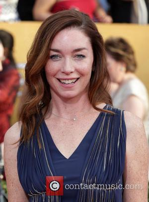 Julianne Nicholson - The 20th Annual Screen Actors Guild (SAG) Awards held at The Shrine Auditorium - Arrivals - Los...