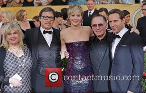 Collen Camp, David O'russell, Jennifer Lawrence, Paul Herman and Alessandro Nivola