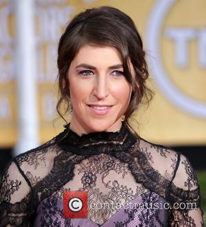 Mayim Bialik - The 20th Annual Screen Actors Guild (SAG) Awards held at The Shrine Auditorium - Arrivals - Los...