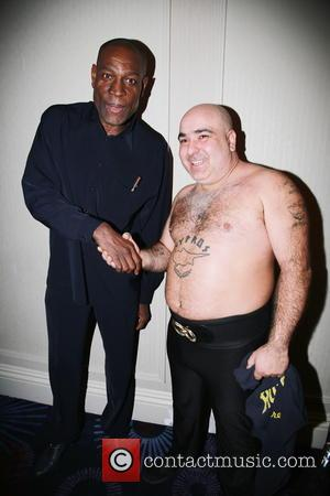 Stavros Flatley and Frank Bruno