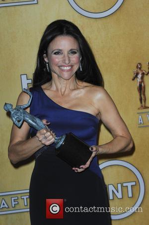 Julia Louis-Dreyfus - 20th Annual Screen Actors Guild Awards - Press Room - Los Angeles, California, United States - Sunday...