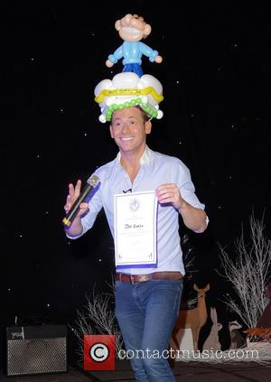 Joe Swash - 'Mad Hatter's Tea Party'London taxi drivers fund for underprivileged children at Grosvenor House Hotel Park Lane, London...
