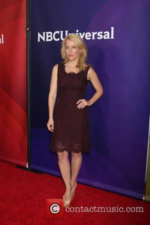 Gillian Anderson - NBC TCA Winter 2014 Press Tour - Pasadena, California, United States - Sunday 19th January 2014
