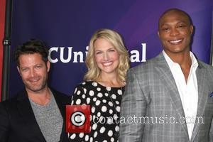 Nate Berkus, Monica Pedersen and Eddie George - NBC TCA Winter 2014 Press Tour - Pasadena, California, United States -...
