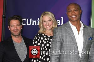 Nate Berkus, Monica Pedersen and Eddie George