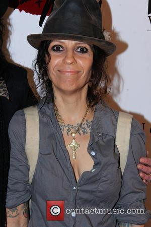 Linda Perry - The Martha Davis & The Motels concert at Whisky a Go Go - Arrivals - West Hollywood,...